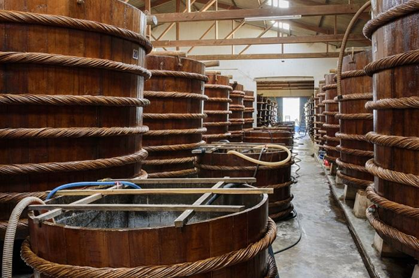 Hình ảnh nhà thùng nước mắm Phú Hà – nước mắm Phú Quốc chính hiệu