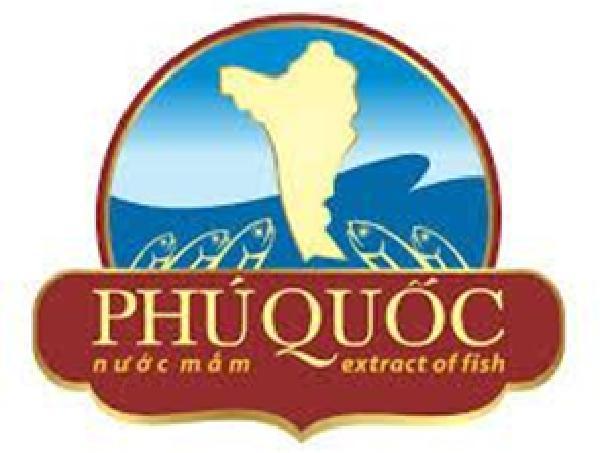 Logo chỉ dẫn địa lý nước mắm Phú Quốc trên các chai nước mắm
