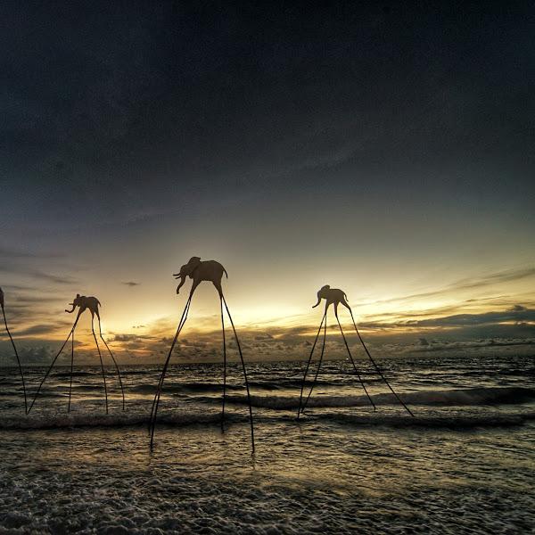 Hoàng hôn Phú Quốc nhìn từ Sunset Sanato Beach Club