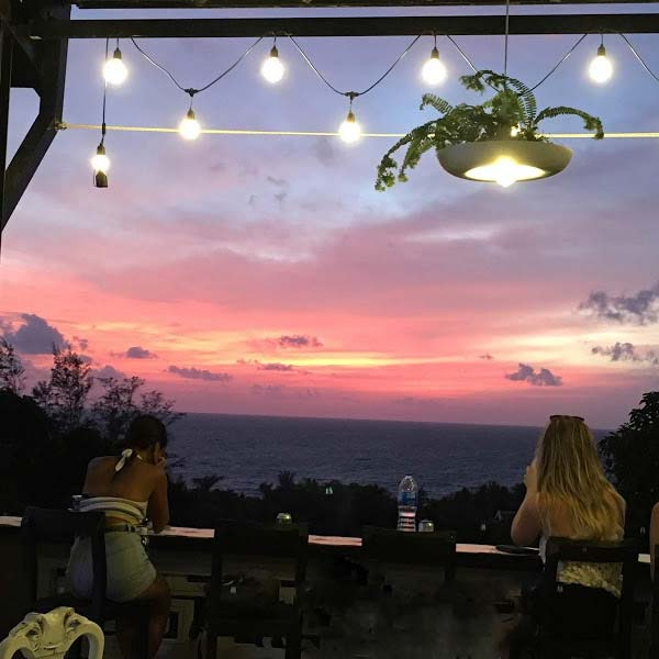Ngắm hoàng hôn Phú Quốc tại Skylne Coffee 2