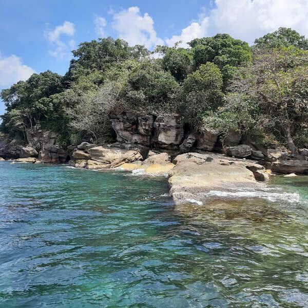 Ngám hoàng hôn Phú Quốc tại bãi biển Gành Dầu