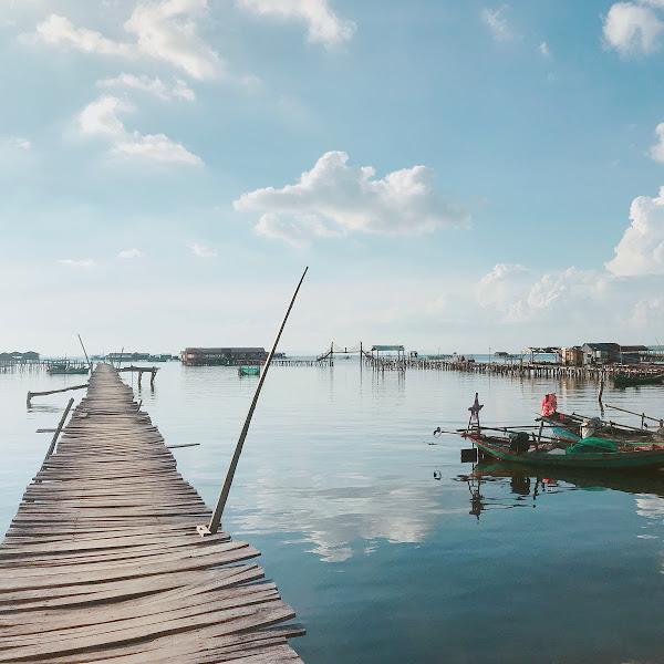 Ngắm hoagnf hôn Phú Quốc tại làng chài Rạch Vẹm