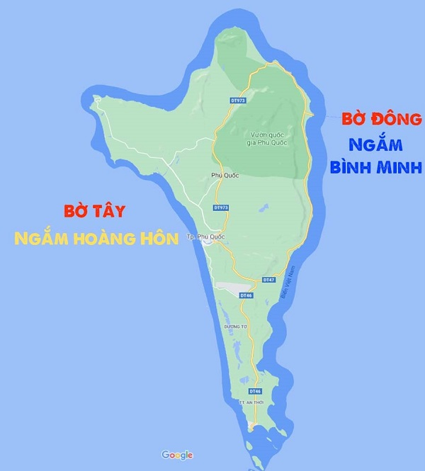 Ngắm hoàng hôn bình minh Phú Quốc ở đâu?